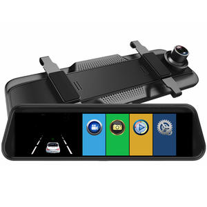 Car DVR Full HD 1080P 11 Inch IPS Touch Video Recorder Camera Dual Lens with Rear View Camera Dash Camera