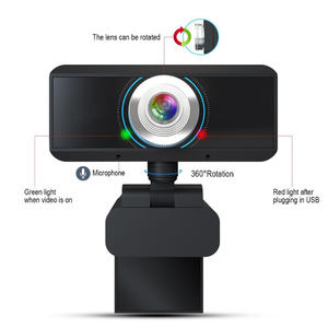 120 Degree Wide Angle Webcam Laptop Beautify Function Internet Student Class Rotation Wifi 720P HD IP Live Stream Video Camera
