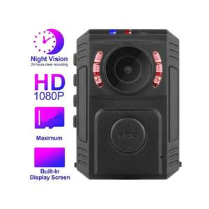 1080P Mini Police Camera Body Worn Video Cam Built-in GPS Wearable IP Security WiFi Cameras
