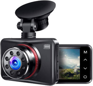 140 Degree Wide Angle Car Driving Recorder 2.7Inch LCD Parking Monitor Loop Recording DVR 1080P FHD Dash Camera