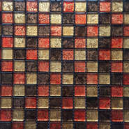 The price of crystal glass mosaic tile