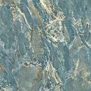 Full polished nano ocean blue marble tile