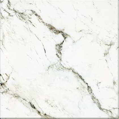 foshan white marble look porcelain tile 600x600mm