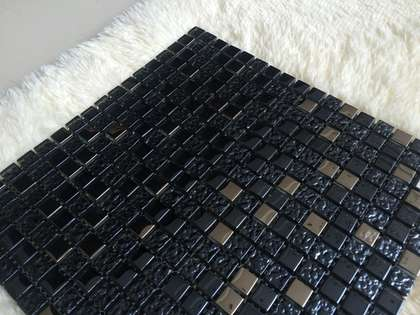300x300 glass mini mosaic tile for facade