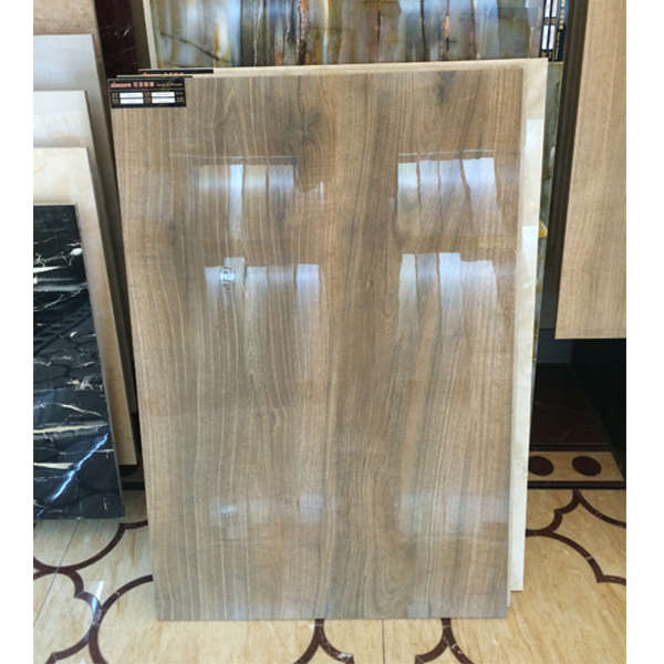 wooden polished porcelain