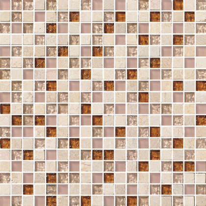 Subway black white mix crystal glass mosaic tile