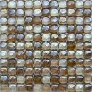 Shinny clear glass mosaic DAH079