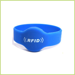 Waterproof RFID Silicone Wristband Tags