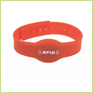 Adjustable waterproof nfc rfid silicone Bracelet