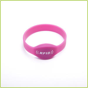 the closed loop type rfid silicone wristband