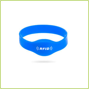 soft and waterproof silicone rubber band with rfid chip