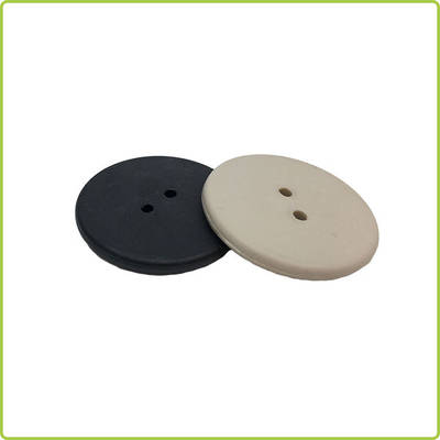 25.5mm Resist High Temperature RFID PPS UHF Laundry Tag for Garments