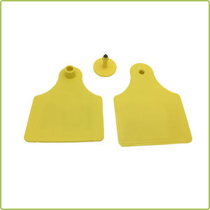 Wholesale Long Reading Range RFID UHF Animal Ear Tag for cattle tracking