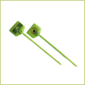 High Quality 860Mhz Uhf Nylon Cable Ties For Gas Cylinder