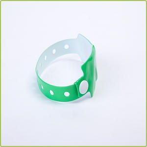 Disposable UHF RFID PVC Wristband for Event Promotion