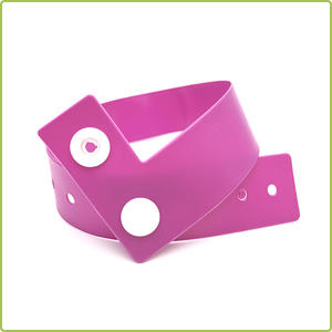 Customized Disposable RFID PVC Wristband for Healthcare Application