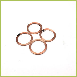 Embeddable EM4305 134.2khz Copper Coil Antenna RFID Tag