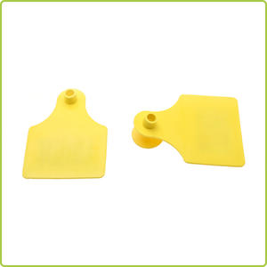 Wholesale UHF 860-960 MHz electronic Animal Ear Tag