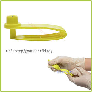 Long Distance UHF 860 MHz-960 MHz Animal Ear RFID Tag China Manufacturer
