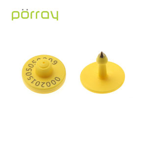 TPU Passive 860-960MHZ UHF RFID Ear Tag For Livestock