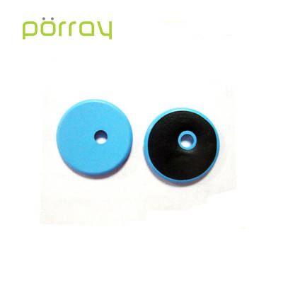 Customized color washable 26mm RFID PPS laundry tag