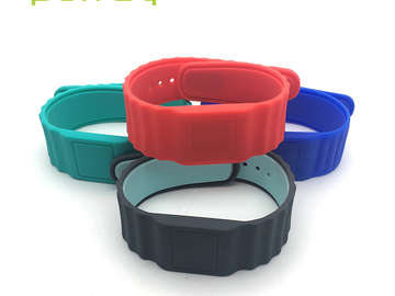 RFID Silicone Wristband can be used in many field in your daily life
