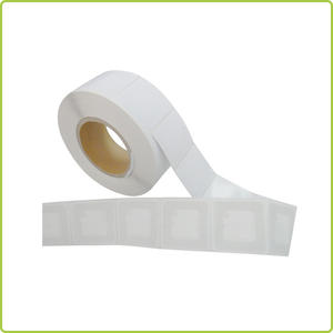 13 56MHz HF rfid sticker tag 50x50mm