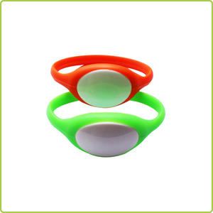 Silicon Oval Wristband Tag (Ф77MM) ( RI-PW001)
