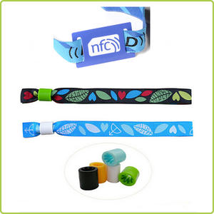 Disposable NFC Stretch Wristband for festivals