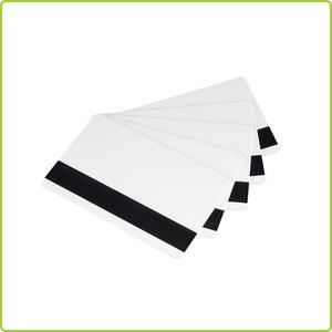 Plastic transparent business pvc card blank in sale