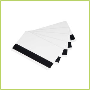 Plastic transparent business blank pvc card in sale