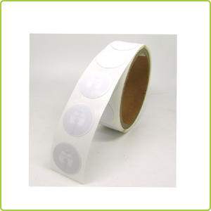 cheap iso14443acustomized pvc nfc sticker in roll