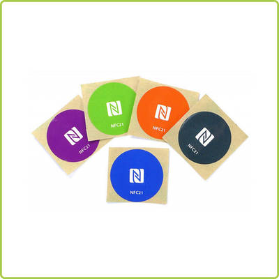 Customized NFC Sticker for Promotional Ads and Souvenirs