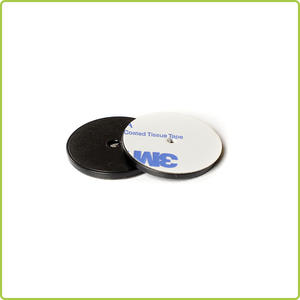 IP67 NFC ABS Coin Tag For Industry Asset Management