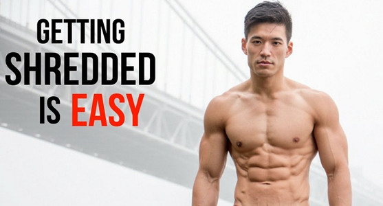 How to get shredded fast?