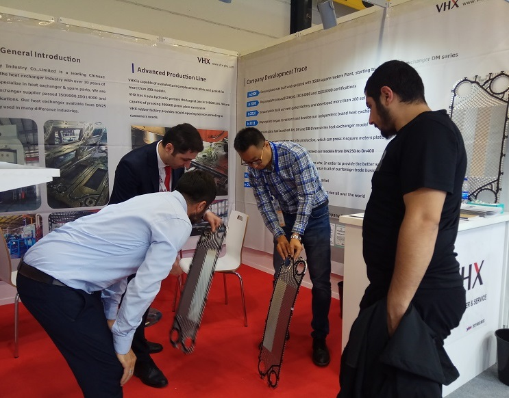 Congratuation to VHX's Exhibited ISK-SODEX ISTANBUL 2019