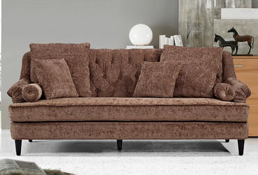 Sofas 0864 Leather Sectional Sofa