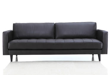 Sofas 0906 Genuine Leather Sofa And Loveseat
