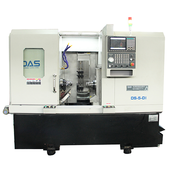 DS-5-DI Double Spindle CNC Lathe For Processing Industry