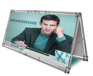 Outdoor A Frame Banner Stand Manufacturer|HK One Plus Display Products
