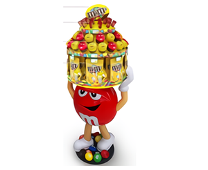 Mars Wrigley-M&M's Candy Shop Display Stands