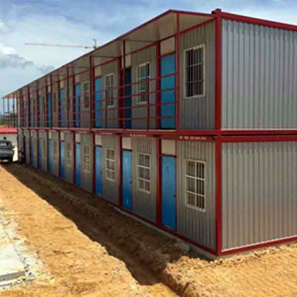There are several categories of Steel container house?