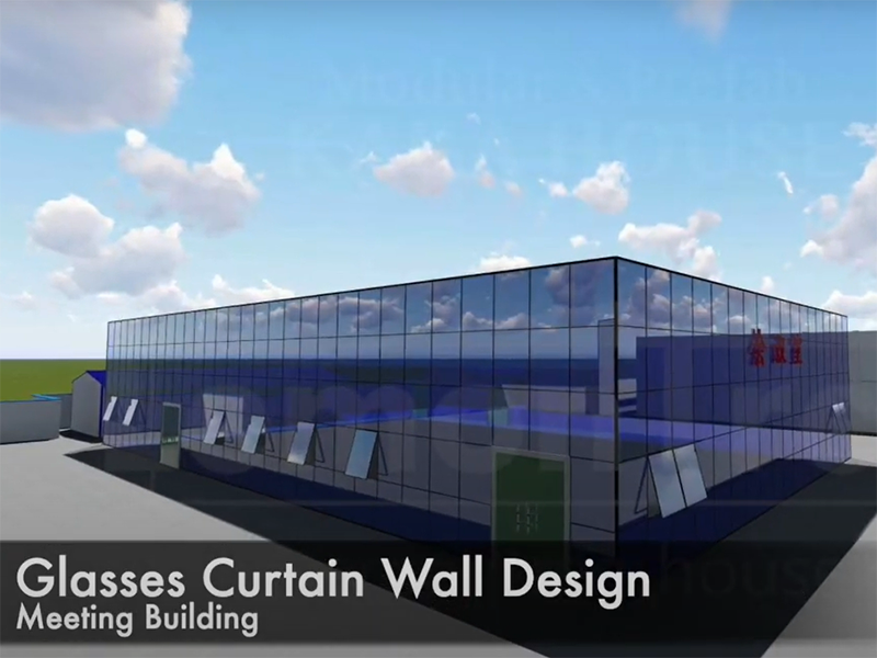 Modular Container Buildings Design Effect Pictures