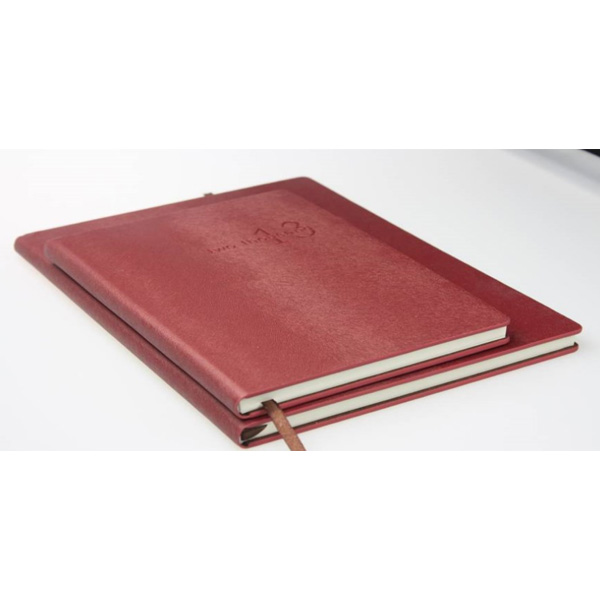 """Pearl Squirrel Stripe Color PU Softcover Waterproof Stone Notebook"""