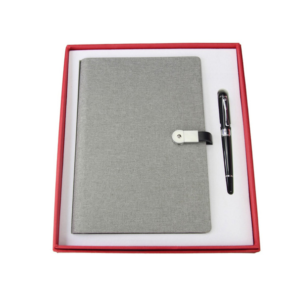 Canvas Loose- leaf Multi- function Waterproof Notebook Made out of Stone with Sign Pen YH- TZ017