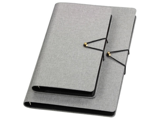 Canvas Loose- leaf Multi- function Notebook Made out of Stone