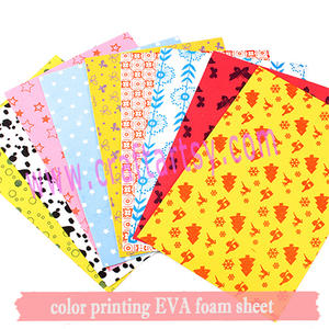 becautiful printing EVA foam sheet