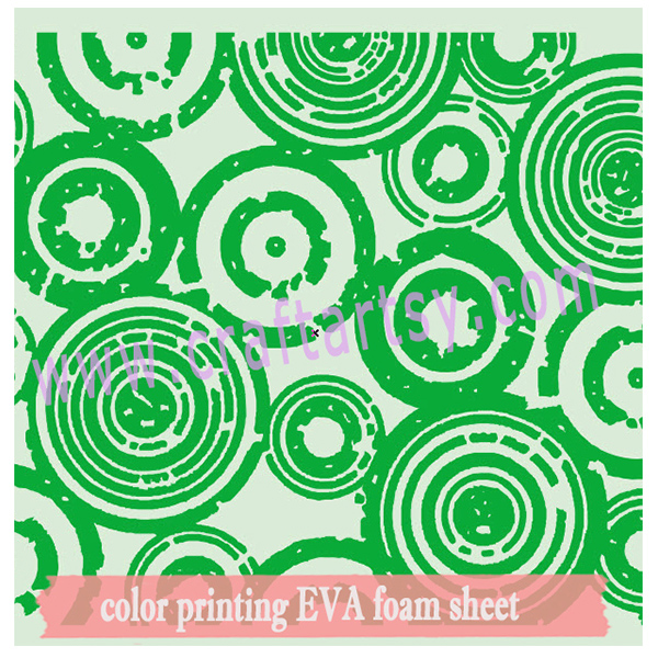 single color printing EVA foam sheet