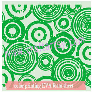 becautiful kleurendruk eva foam sheet