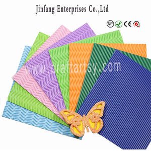 Wholesale Ethylene Acetate sheet Vinyl / color Embossed manus artis eva spumas pro Kids